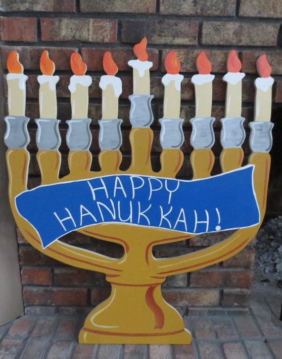 Menorah for Hanukkah Wood Outdoor Yard Art Decoration by chardoman - 434 Best Hanukkah Stuff Images On Pinterest Happy Hanukkah