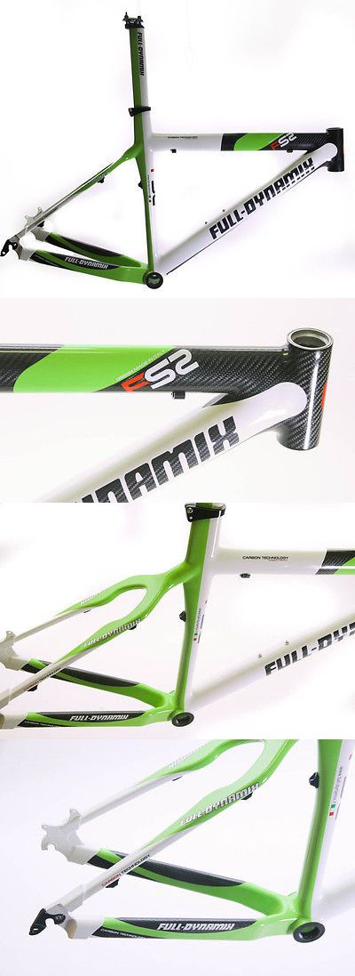 bicycle parts: Italian Full Dynamix 20.5 Carbon 26 Hardtail Mtb Bike Frame Msrp $1999 Disc New BUY IT NOW ONLY: $333.97