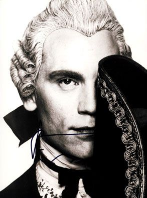 John Malkovich as the Vicomte de Valmont in 'Dangerous Liaisions'.  He was deliciously naughty in this movie.