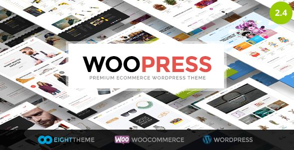 Download Here: http://themeforest.net/item/woopress-responsive-ecommerce-wordpress-theme/9751050?ref=avtar-singh WooPress - Responsive Ecommerce WordPress Theme WooPress – is a professional, sleek and powerful WordPress WooCommerce template that provides an elegant solution for those who are going to sell products online. If you want to create an online store which has both, great design and lots of features – choose WooPress theme.