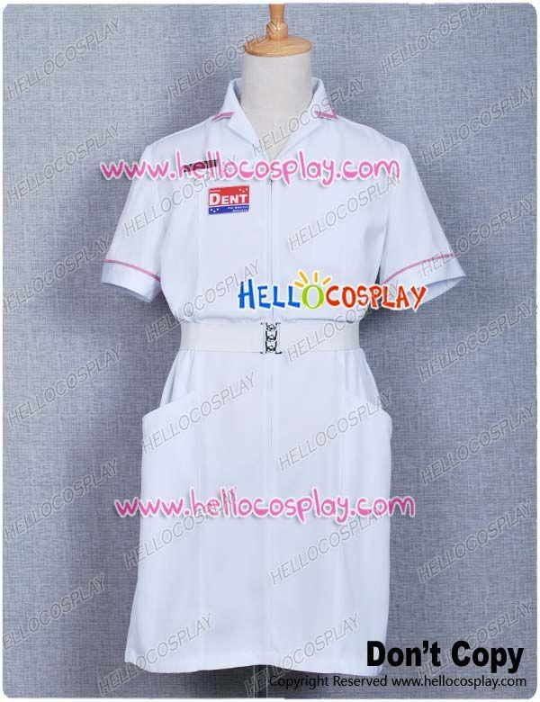 Joker Nurse Costume Made