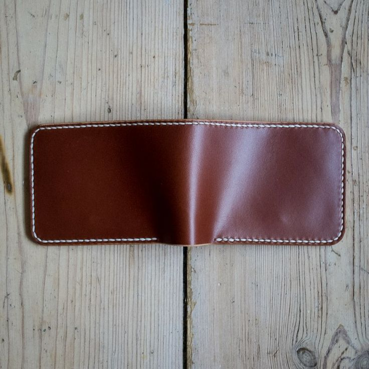 'Borr' Bifold Wallet - Chestnut via NORDIC DISTRICT. Click on the image to see more!