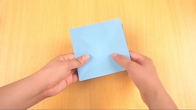 How to Make an Origami Flapping Bird: 14 Steps