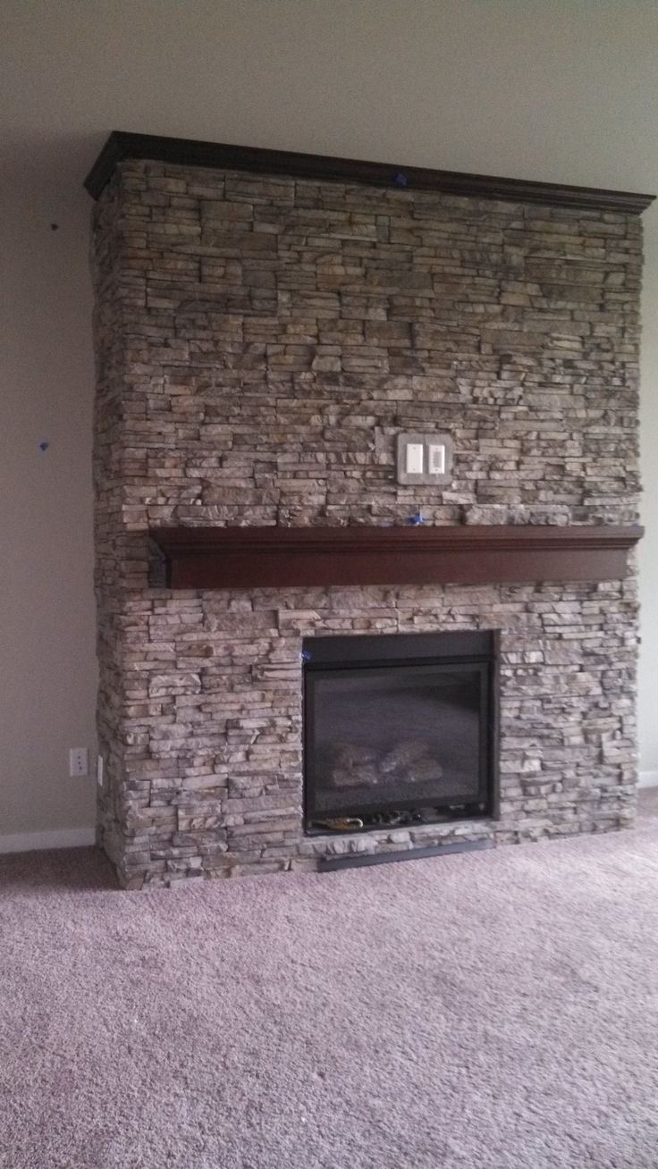 24 best images about fun fireplace designs on pinterest for Eldorado black river stacked stone