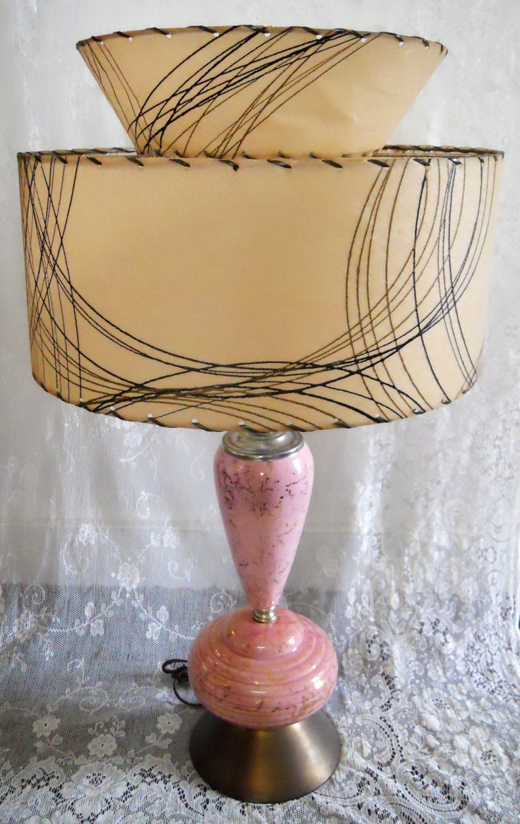 78 Images About Vintage Lamps Lights On Pinterest