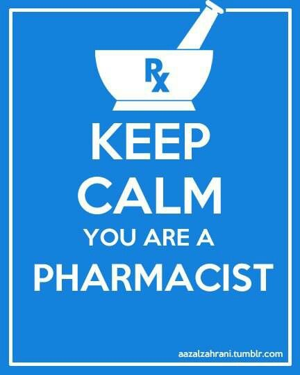 Keep Calm You Are A Pharmacist