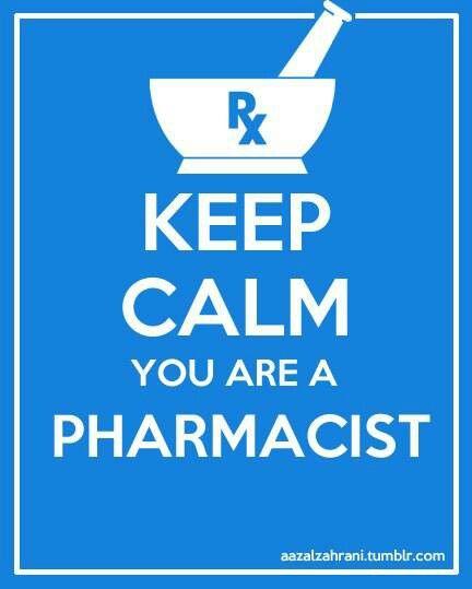 Keep Calm You Are A Pharmacist