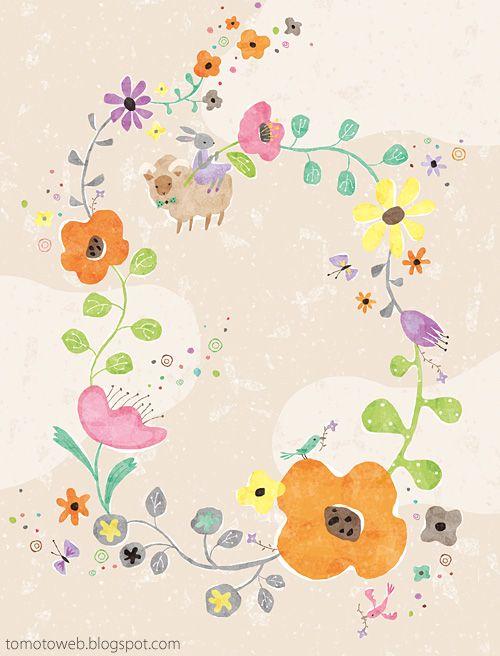 tomoto: Flower Garland