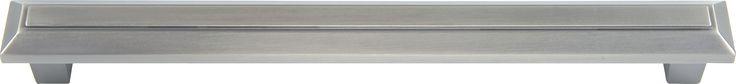 Atlas Homewares 285 Trocadero 7-1/2 Inch Center to Center Bar Cabinet Pull Pewter Cabinet Hardware Pulls Bar