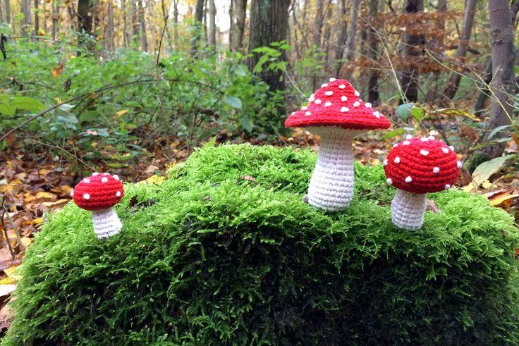 25 einzigartige pilz h keln ideen auf pinterest for Fliegenpilz dekoration