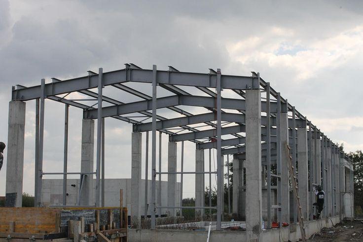 Structura Metalica Statie Ape Ciacova - Duna-steel.ro