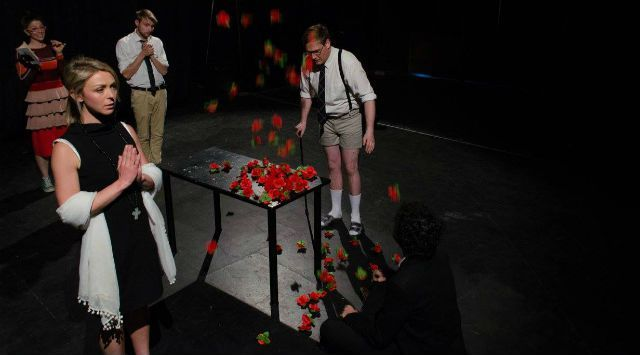 Tender Indifference, by Arrive. Devise. Repeat. PACT 2015 dir. Victor Kalka and Alexis Hammerton Set Design Victor Kalka