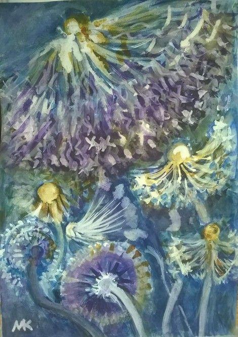 Mihaela Marilena Chitac, BEWITCHED STARS on ArtStack #mihaela-marilena-chitac #art