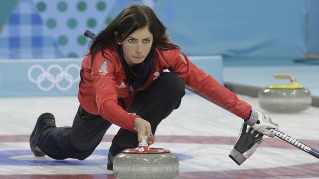 Eve Muirhead GB Olympic Curling team Sochi