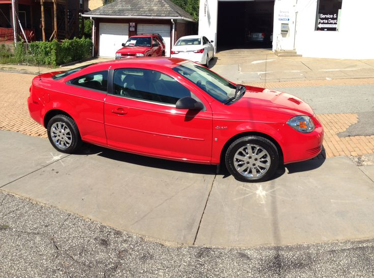 Red 2009 Chevrolet Cobalt #car