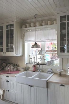 35 Awesome Shabby Chic Kitchen Designs, Accessories and Decor Ideas