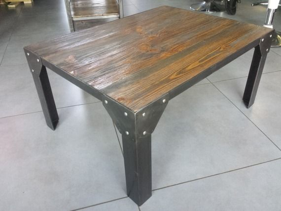 17 best ideas about table basse acier on pinterest mobilier acrylique weld - Table basse acrylique ...