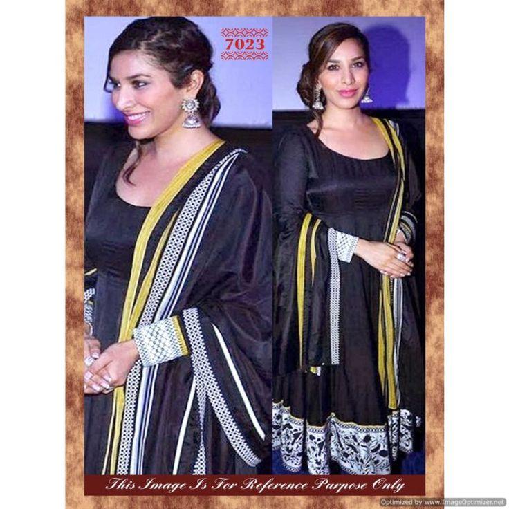 Piramalls Bollywood Black Salwar Suit With Dupatta
