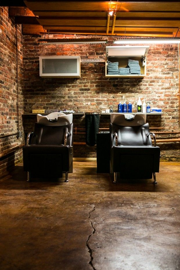 Back shampoo area salon pictures pinterest salons de coiffure coiffeur et conception - Salon de coiffure shampoo ...