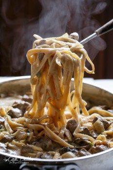 Creamy Beef & Mushroom Stroganoff