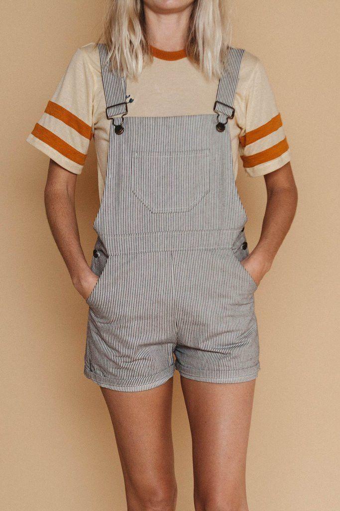 Denim Shorts Overalls Workwear