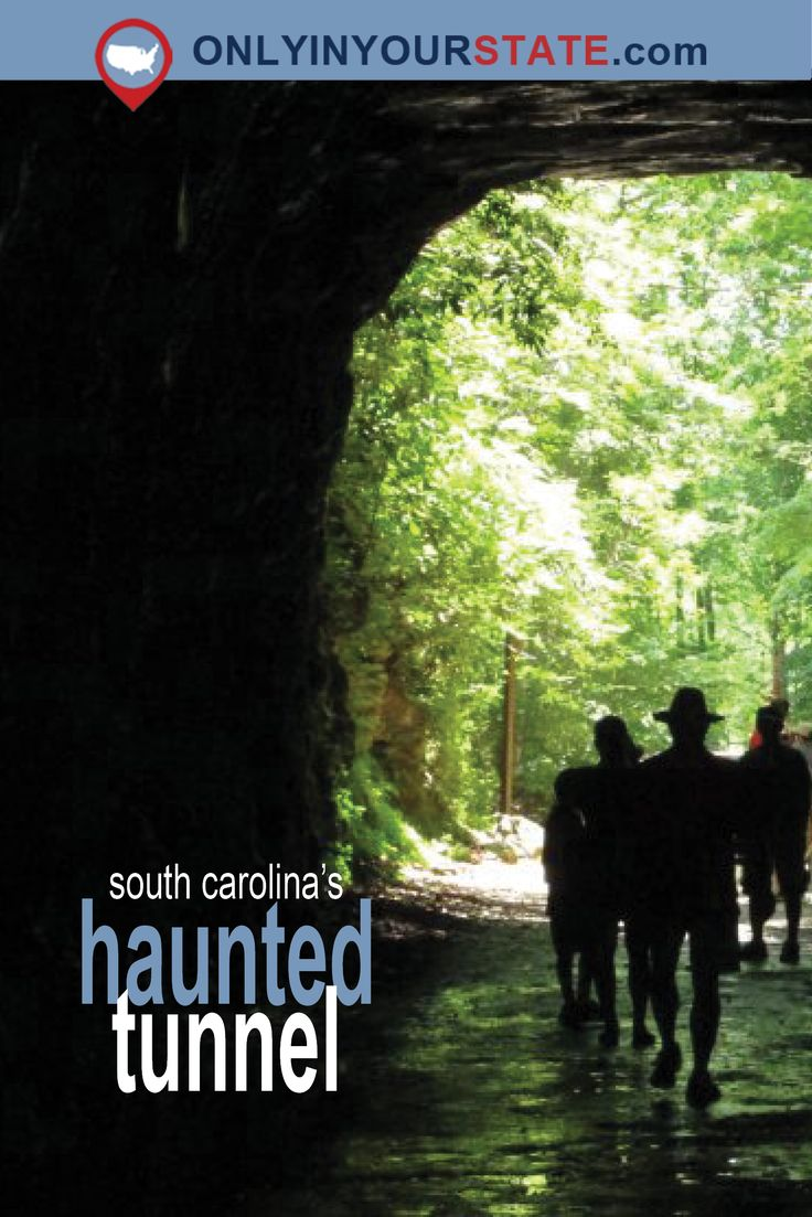 Travel | South Carolina | USA | Haunted Places | Haunted Tunnels | Creepy Tunnels | Real Haunted Places | Paranormal Activity | Scary Places