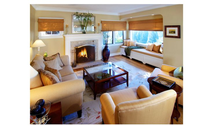 Urban ID Studios Brock Designs Group Lori Brock Portland Oregon Interior Designer Living Area