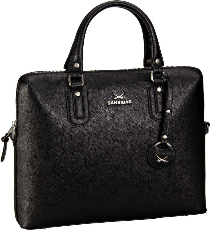 Sansibar Sansibar Chic Business Bag Black - Aktentasche