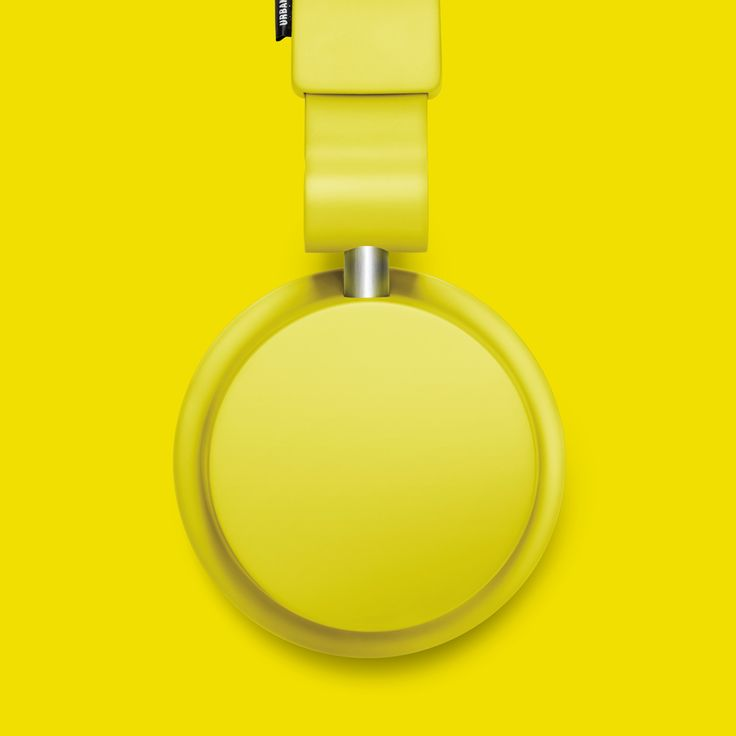 Urbanears Zinken Headphones in Citrus