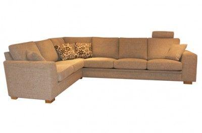 Fasett modulsofa corner sofa couch brown fabric swedish design møbelform www.helsetmobler.no