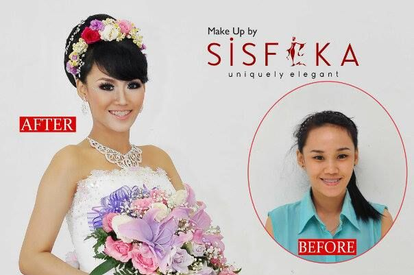 Make up by sisfika :D thank you so much :*