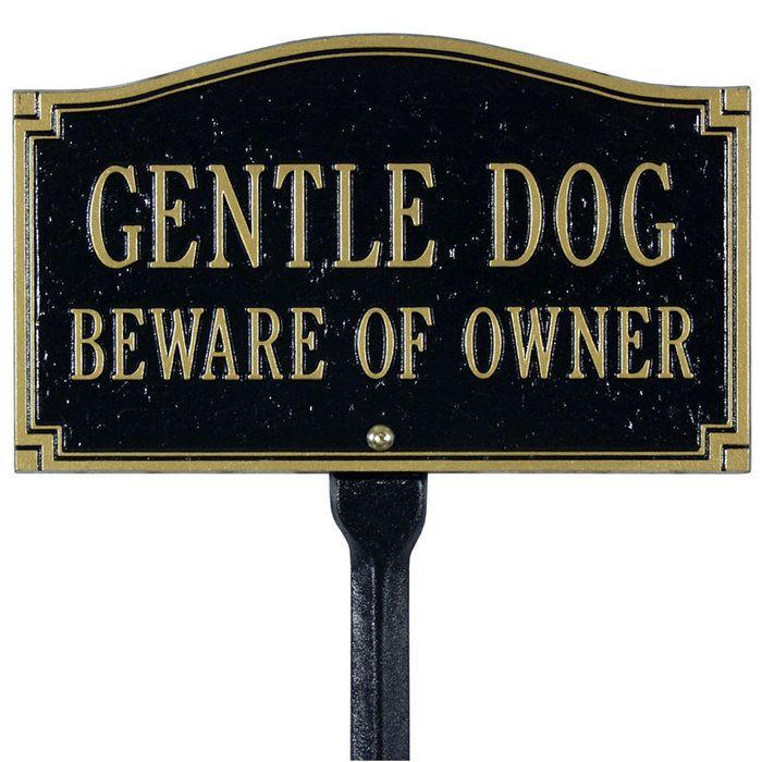 Beware of owner;)