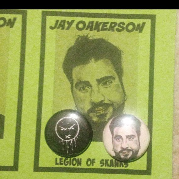 Big Jay Oakerson Pin Set by TheEscapistArtist on Etsy