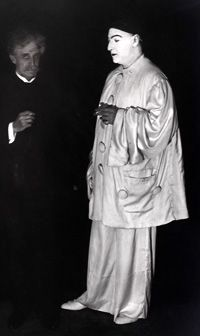Georges de Porto-Riche et Sacha Guitry en Deburau, 1919