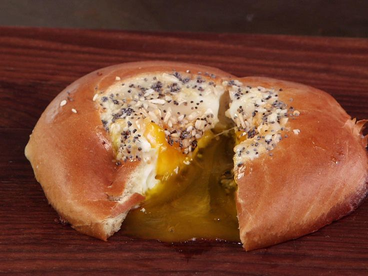 Everything Egg in a Bagel Hole | Everything bagels actually are everything. Instead of making your own everything bagel, make an everything egg. Cook your egg into a bagel and viola! A much simpler and faster way to get your everything fix, without the cafe price.