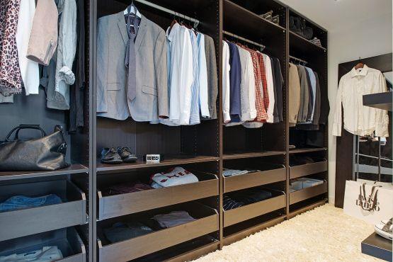 dormitorio con walk in closet distribución pisos dos habitaciones decoración nórdica decoración dormitorios nórdicos decoración diseño walk ...