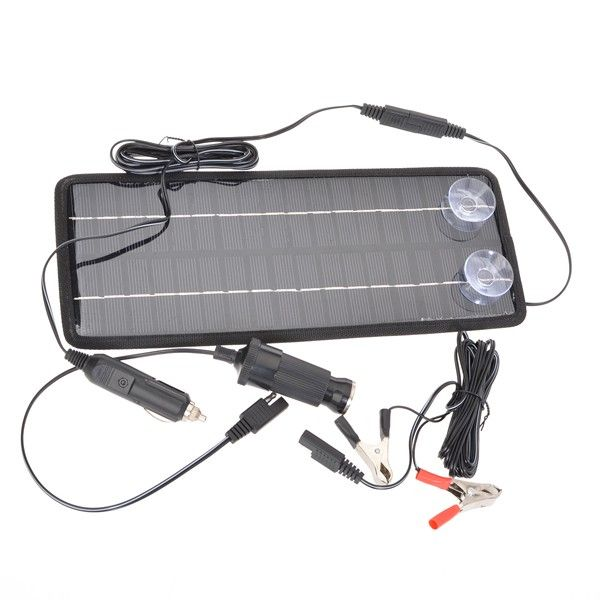 12V 4.5W Poly Silicon Solar Panel Car Battery Charger For Car/Truck via Goods from Michal. Click on the image to see more!