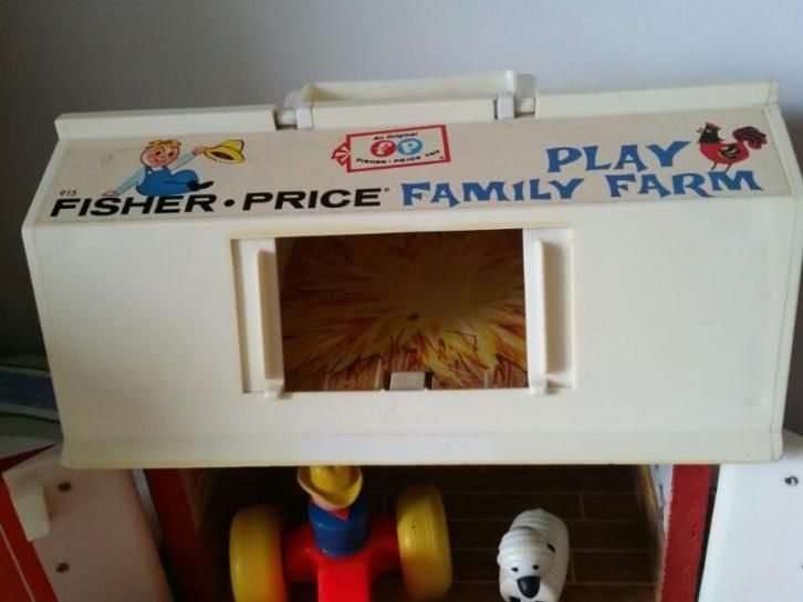 Fisher Price family play farm. 1967.