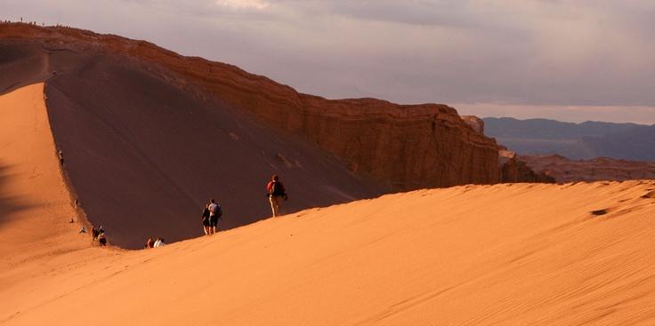 Atacama Desert, the most arid desert in the world #worldplaces #landscapes