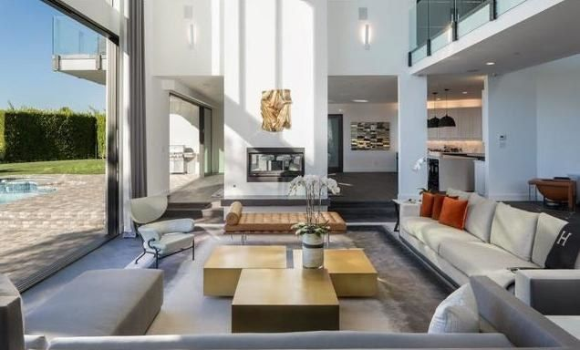 John Legend and Chrissy Teigen Buy Rihanna's Former Home in Beverly Hills Photos   Architectural Digest