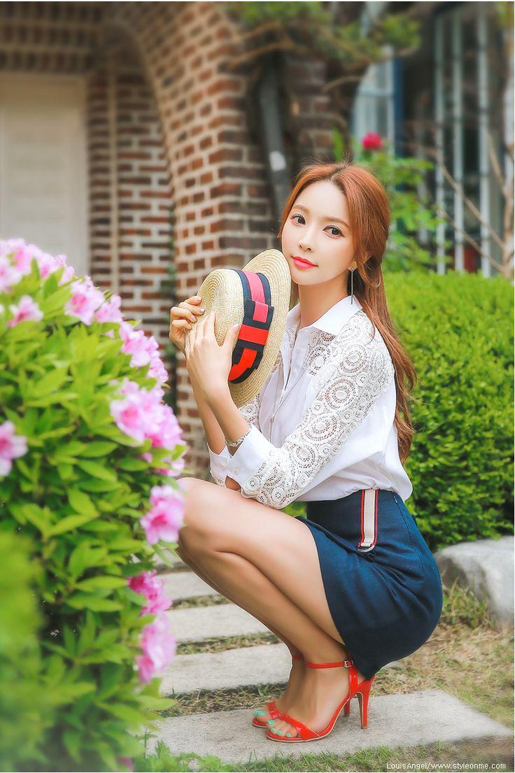 StyleOnMe_Skinny Ankle Strap Sandal Heels #red #spring #summer #chic #elegant #anklestrap #sandal #koreanfashion