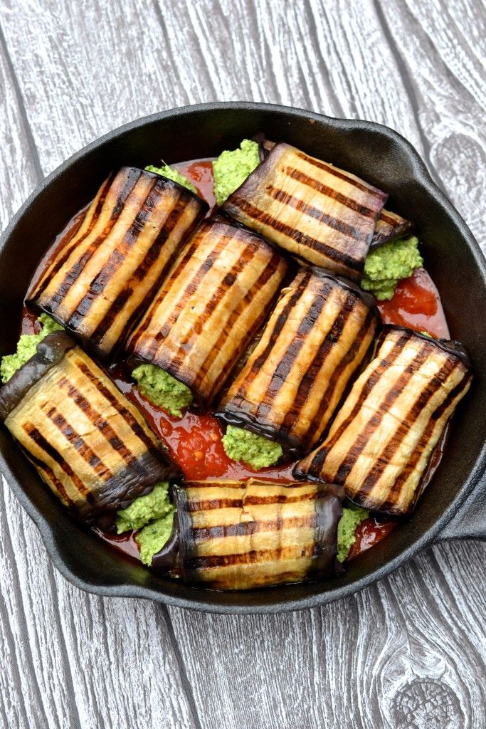 Eggplant Cannelloni by everylastbite:  Gluten free and grain free. #Eggplant #GF