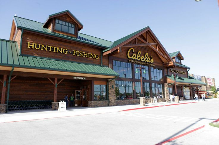 Cabela's offers a breathtaking view to its customers in