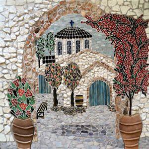 griekenland mozaïek