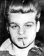 Charles Starkweather killed 11 people with Caril Ann Fugate. He was  executed by electric chair @ age 20. Caril served 18 yrs in prison.
