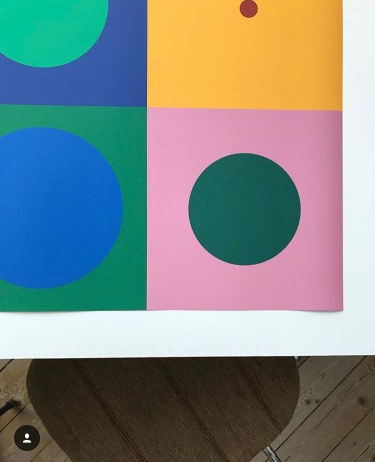 special edition print closeup ~ The passion for the geometric univers