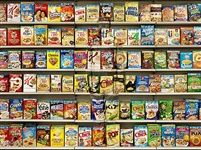 Hiding in New York No 8 - Cereal par Liu Bolin