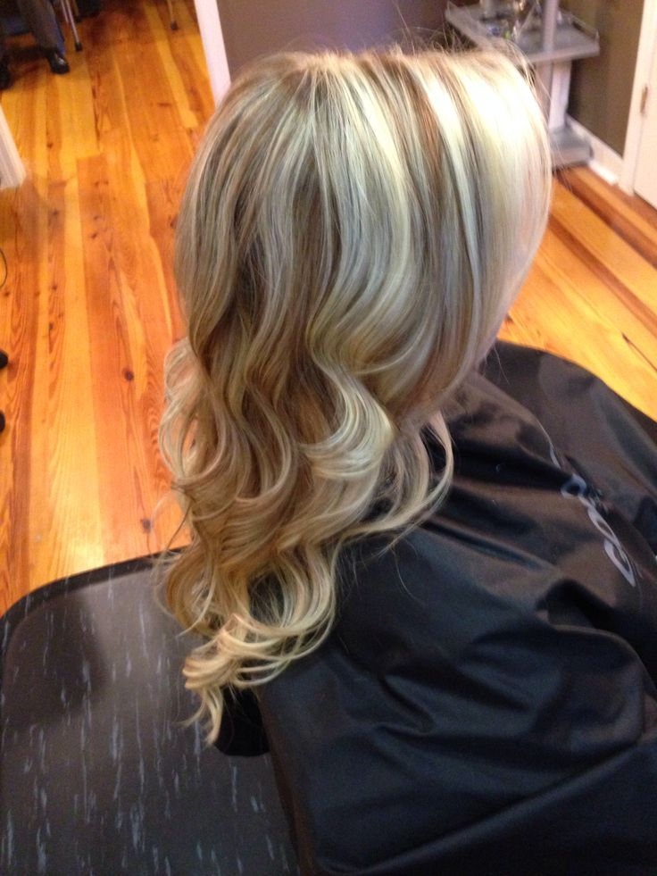 Light Brown Hair with Blonde Lowlights