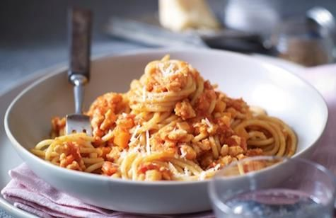 Weekend Recipe: Turkey Spaghetti Bolognese: A light, healthy and easy version of a favourite classic.