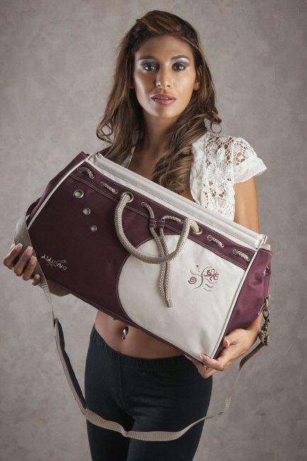Liliano SE1E paars Deborah tassen double7 tassen-mode-nieuws